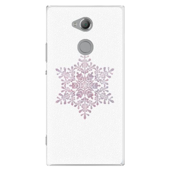 Plastové pouzdro iSaprio - Snow Flake - Sony Xperia XA2 Ultra