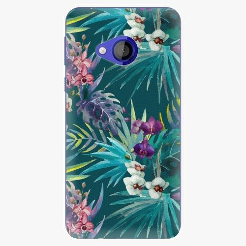Plastový kryt iSaprio - Tropical Blue 01 - HTC U Play