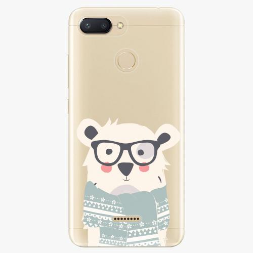 Plastový kryt iSaprio - Bear with Scarf - Xiaomi Redmi 6