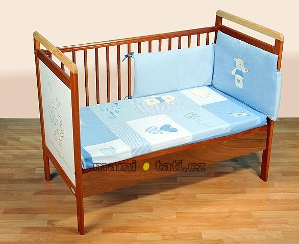 Luxusní set BON DODO 135x100 - modrý