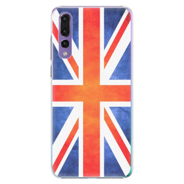 Plastové pouzdro iSaprio - UK Flag - Huawei P20 Pro