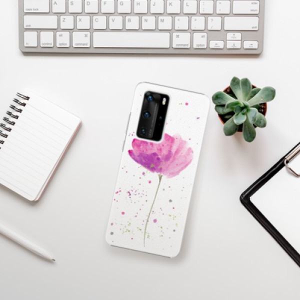 Plastové pouzdro iSaprio - Poppies - Huawei P40 Pro