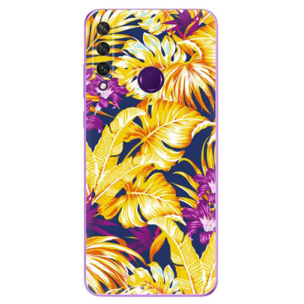 Odolné silikonové pouzdro iSaprio - Tropical Orange 04 - Huawei Y6p