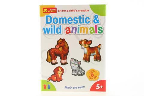 Výroba magnetů - domácí a divoká zvířata