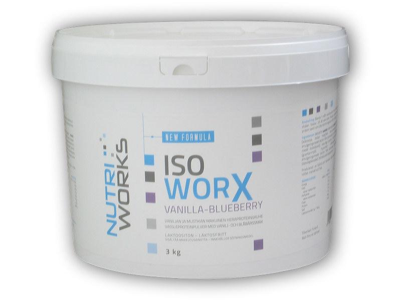 Iso Worx New Formula 3000g + Vitamin C 200g