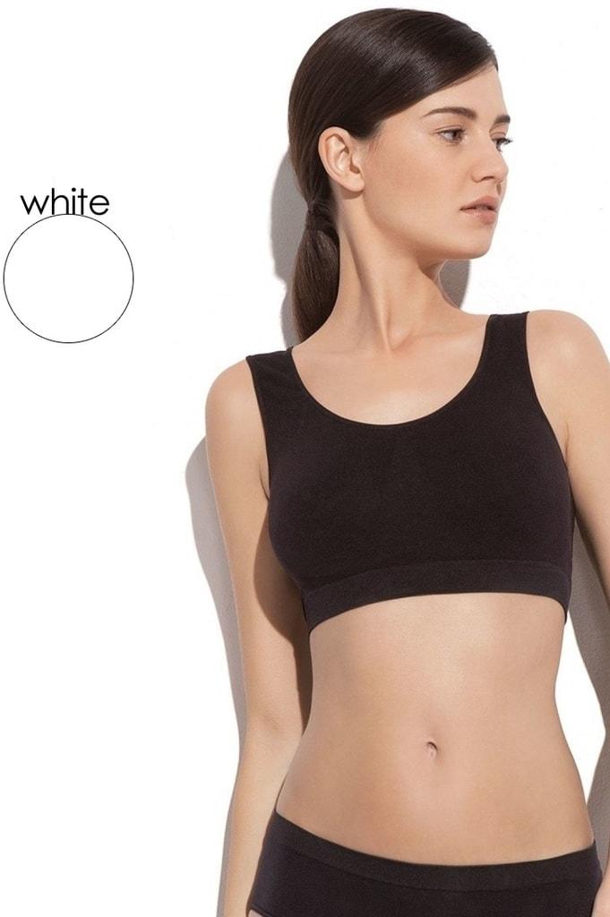 Fitness top GATTA 3k612 bílý