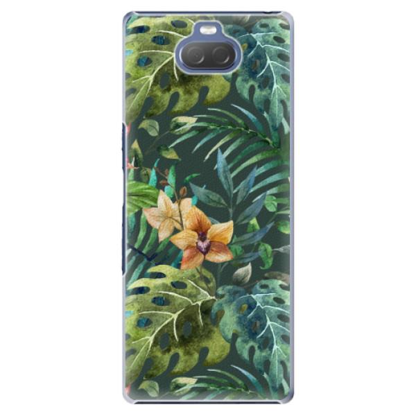 Plastové pouzdro iSaprio - Tropical Green 02 - Sony Xperia 10 Plus