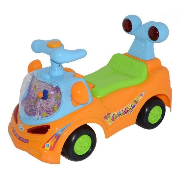 euro-baby-odstrkovadlo-odrazedlo-jezditko-funny-car-oranzove