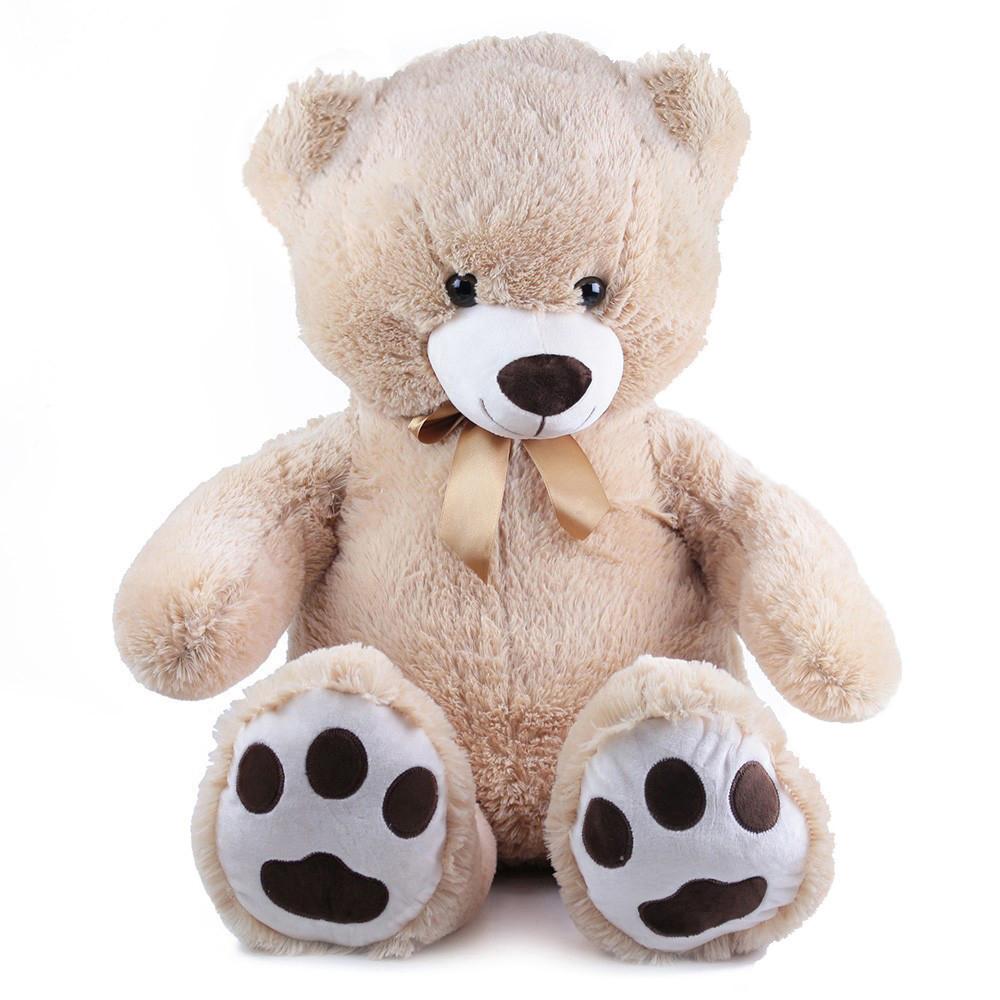 Velký plyšový medvěd Fido s visačkou 100 cm