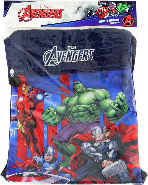 Batoh dětský klučičí Avengers velký pytlík v sáčku