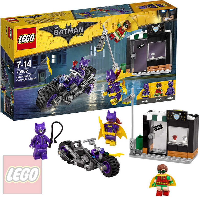 LEGO BATMAN Catwoman a honička na Catcycle 70902 STAVEBNICE
