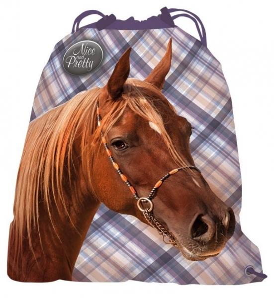 Pytel školní Nice and Pretty kůň, 36 x 44,5 cm