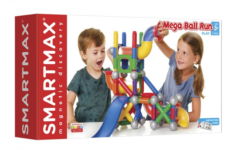 SmartMax – Mega kuličková dráha - 71 ks