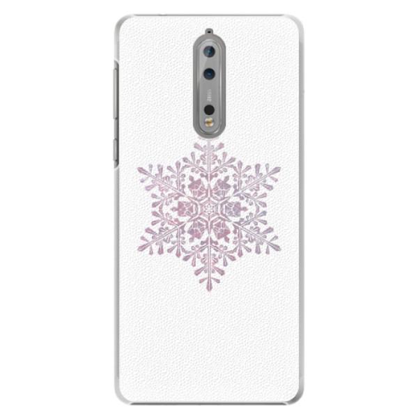 Plastové pouzdro iSaprio - Snow Flake - Nokia 8