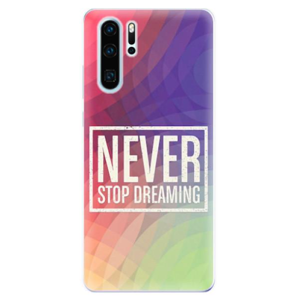 Odolné silikonové pouzdro iSaprio - Dreaming - Huawei P30 Pro