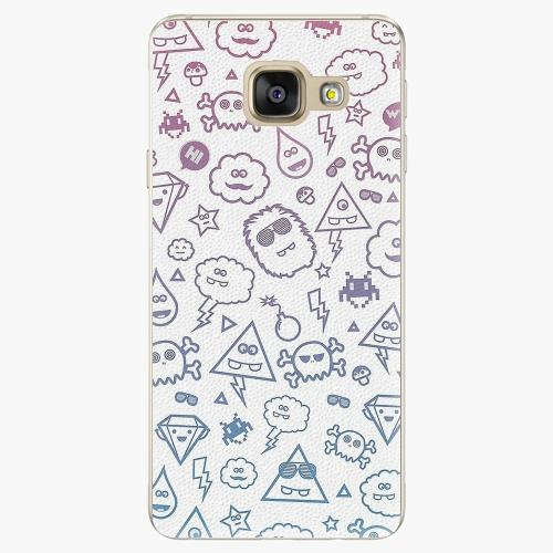 Plastový kryt iSaprio - Funny Clouds - Samsung Galaxy A5 2016