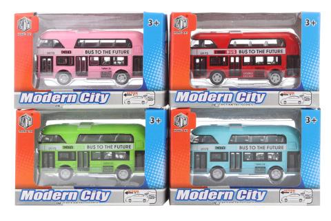 Autobus kovový 24/bal
