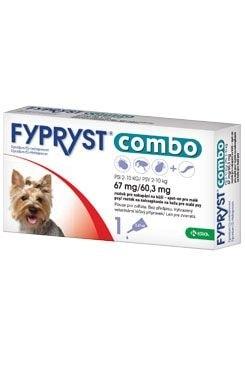 Antiparazitní pipeta pro malého psa 1 pip