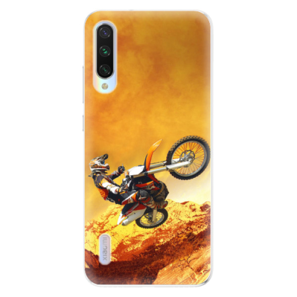 Odolné silikonové pouzdro iSaprio - Motocross - Xiaomi Mi A3