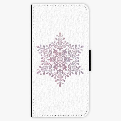 Flipové pouzdro iSaprio - Snow Flake - Samsung Galaxy A3 2017