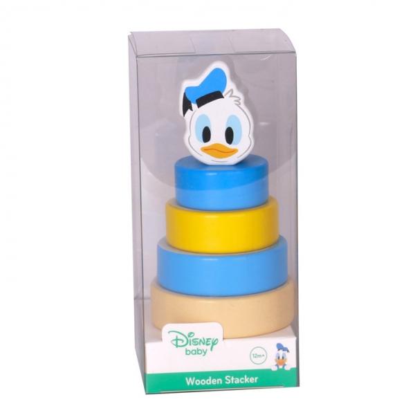 Dřevěná pyramida Disney skládačka - Kačer Donald