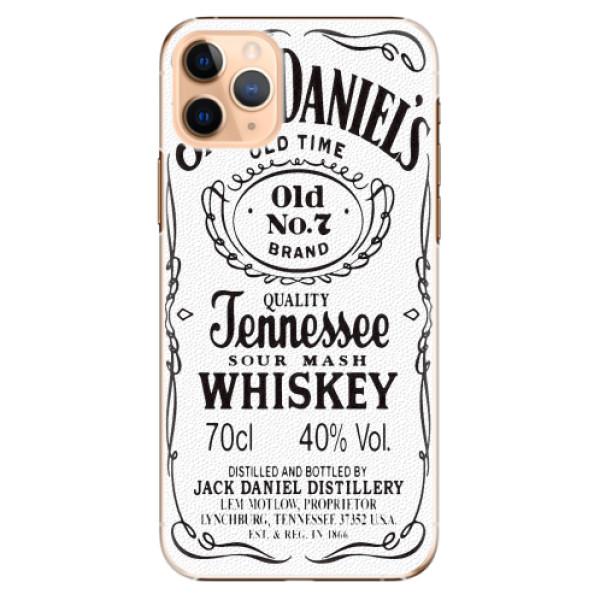 Plastové pouzdro iSaprio - Jack White - iPhone 11 Pro Max