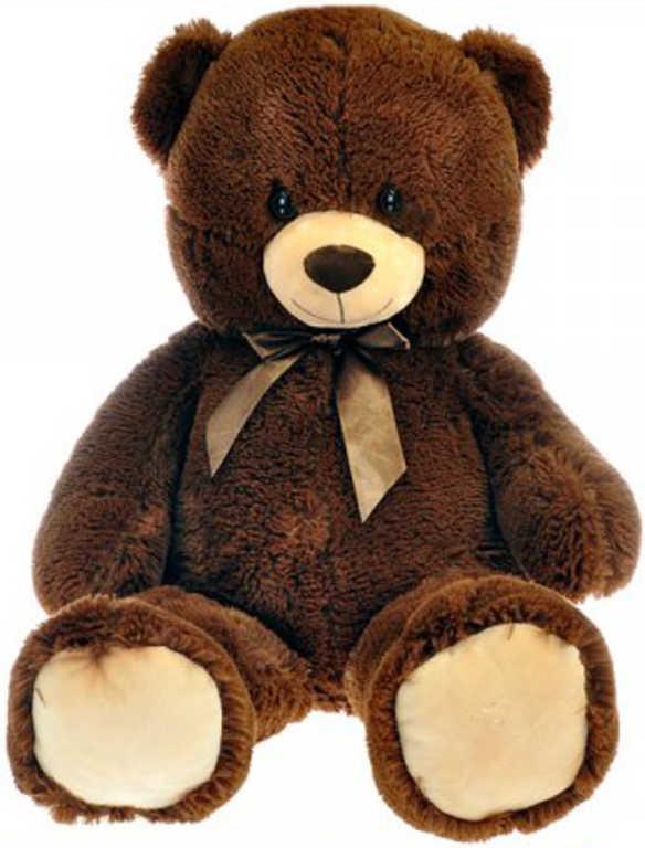 PLYŠ Medvěd s mašlí 90cm *PLYŠOVÉ HRAČKY*