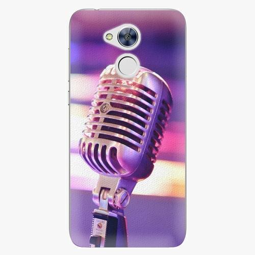 Plastový kryt iSaprio - Vintage Microphone - Huawei Honor 6A