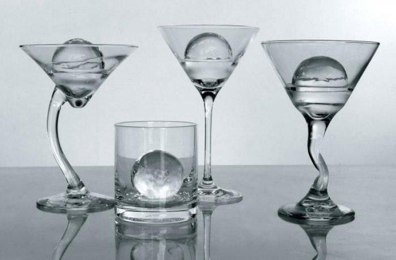 Formy na ledové koule