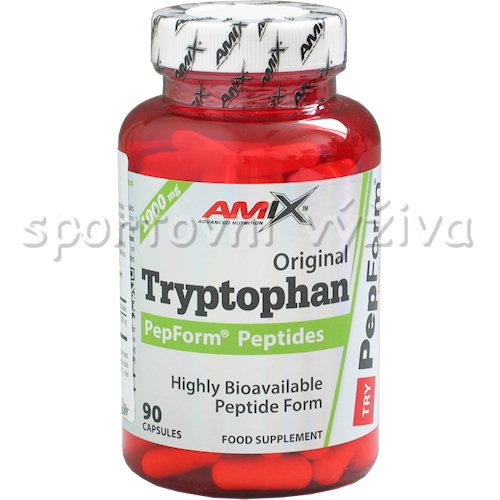 Tryptophan Peptide PepForm 90 kapslí