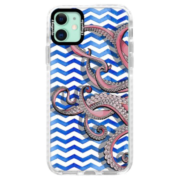 Silikonové pouzdro Bumper iSaprio - Octopus - iPhone 11