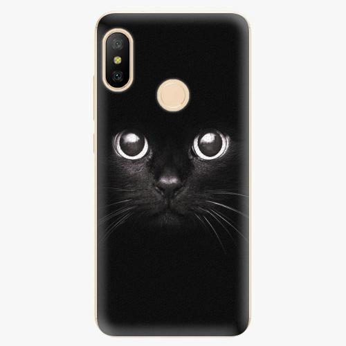 Silikonové pouzdro iSaprio - Black Cat - Xiaomi Mi A2 Lite
