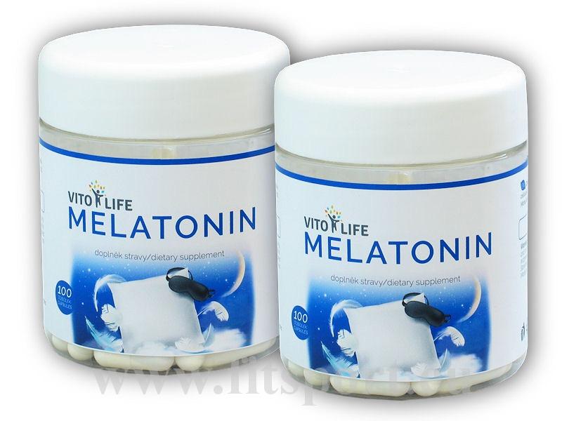 2x Melatonin 100 kapslí