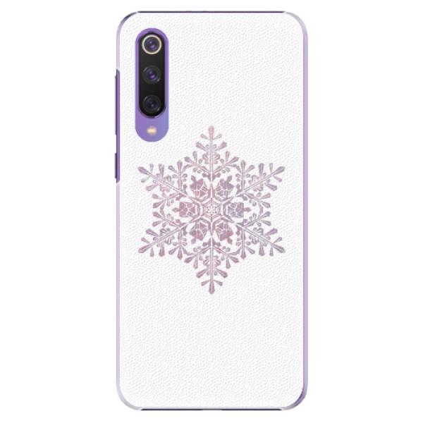 Plastové pouzdro iSaprio - Snow Flake - Xiaomi Mi 9 SE
