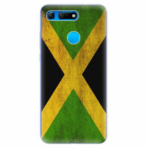 Silikonové pouzdro iSaprio - Flag of Jamaica - Huawei Honor View 20