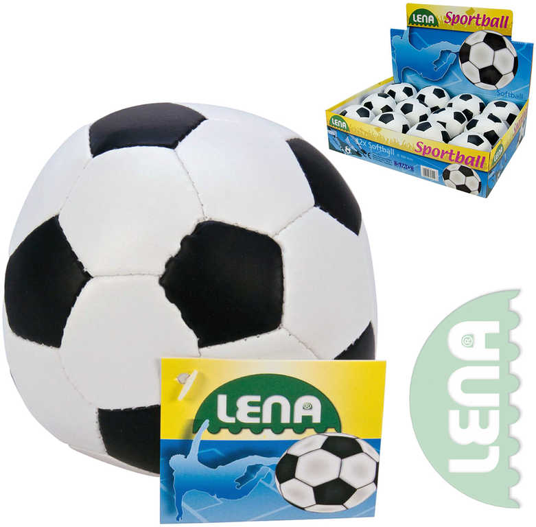LENA Soft míček fotbalový měkký kopačák 11cm