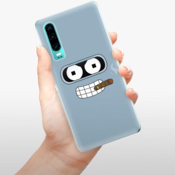 Odolné silikonové pouzdro iSaprio - Bender - Huawei P30