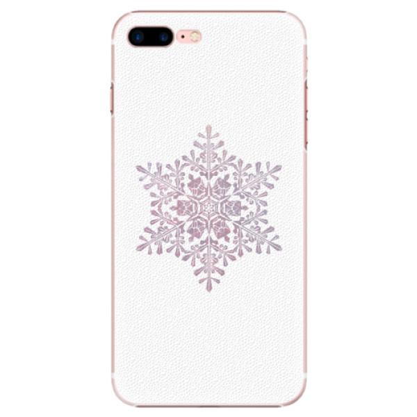 Plastové pouzdro iSaprio - Snow Flake - iPhone 7 Plus
