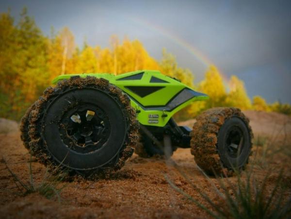 DF-Crawler 4WD, RTR - Žlutý