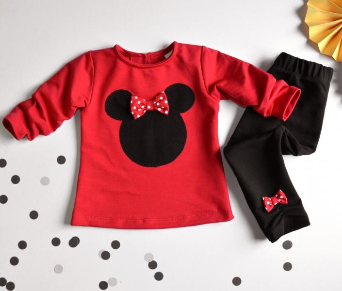 K-Baby Sada triko/mikinka + legíny Minnie