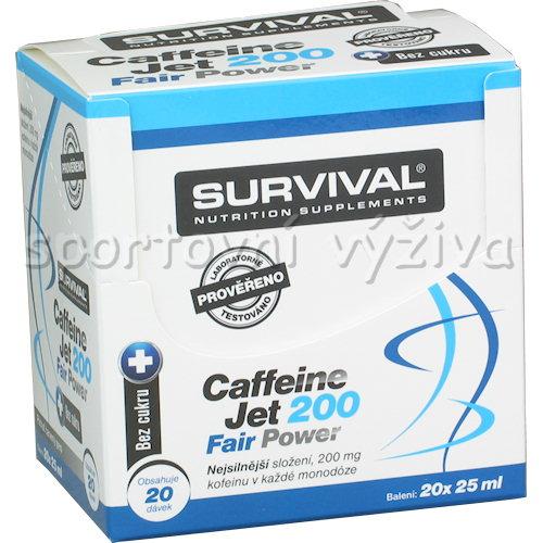 Caffeine JET 200 20 ampulí á 25ml