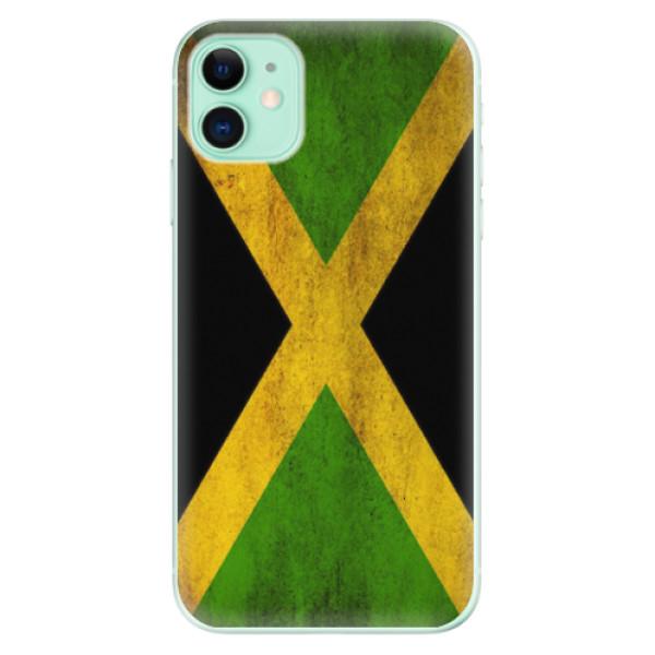 Odolné silikonové pouzdro iSaprio - Flag of Jamaica - iPhone 11