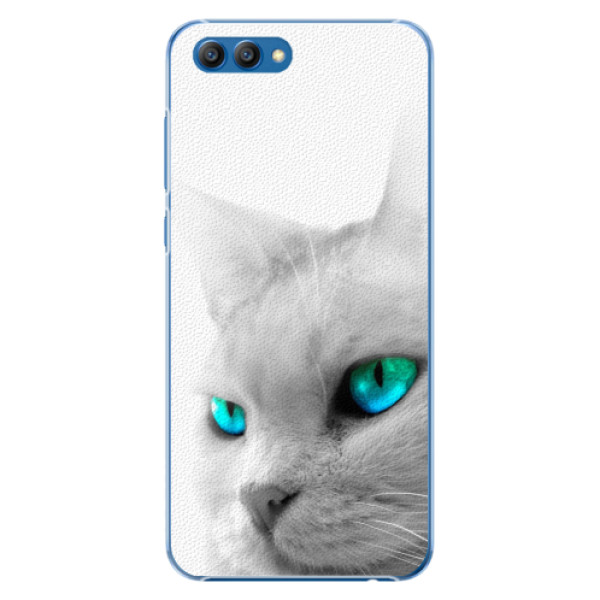 Plastové pouzdro iSaprio - Cats Eyes - Huawei Honor View 10