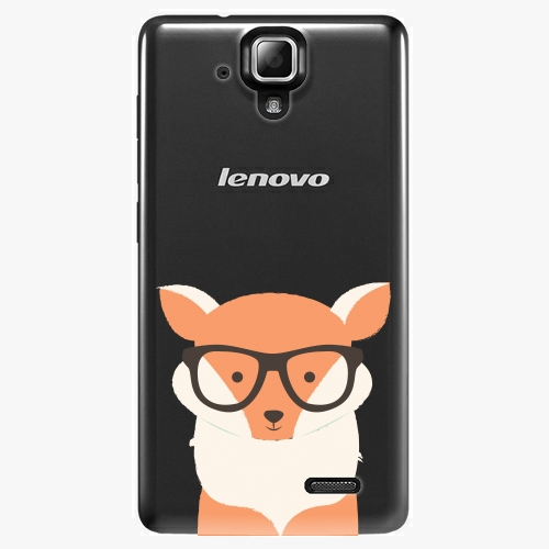 Plastový kryt iSaprio - Orange Fox - Lenovo A536