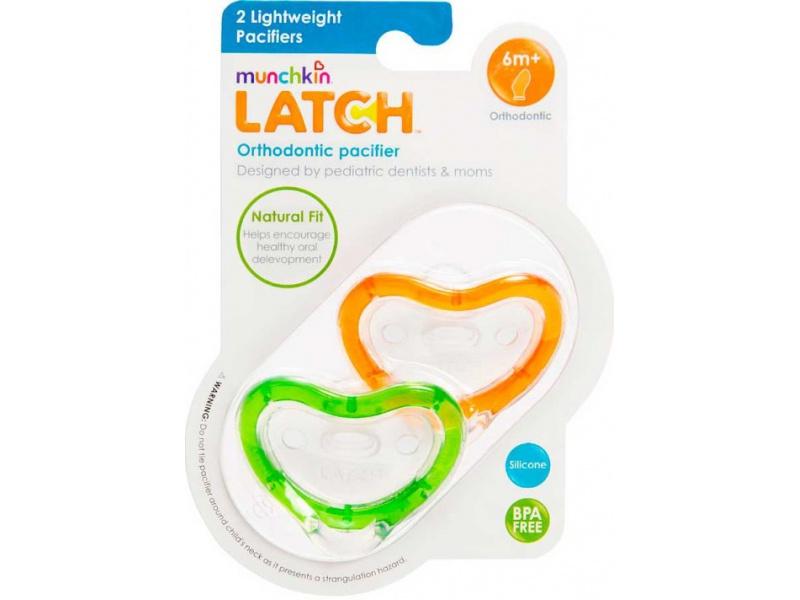 Munchkin Latch - Silikonový dudlík 3m+, 2ks