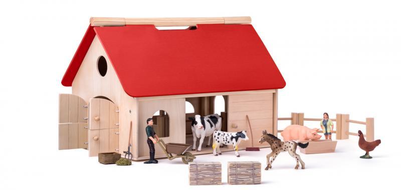 Farma s příslušenstvím a zvířaty
