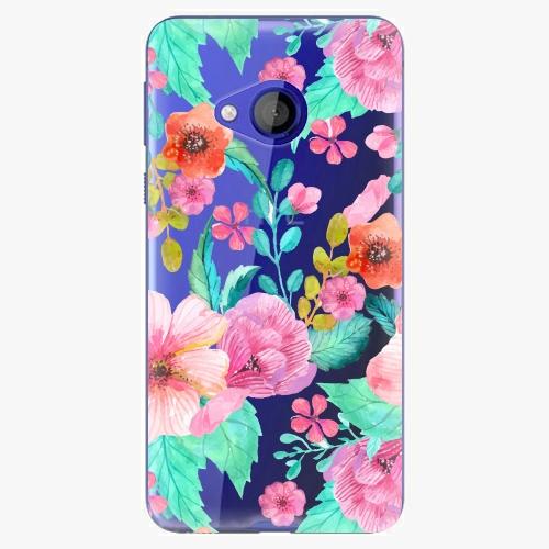 Plastový kryt iSaprio - Flower Pattern 01 - HTC U Play