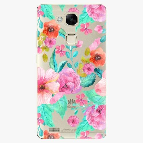 Plastový kryt iSaprio - Flower Pattern 01 - Huawei Mate7
