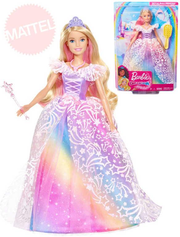 MATTEL BRB Na královském plese set panenka Barbie s doplňky