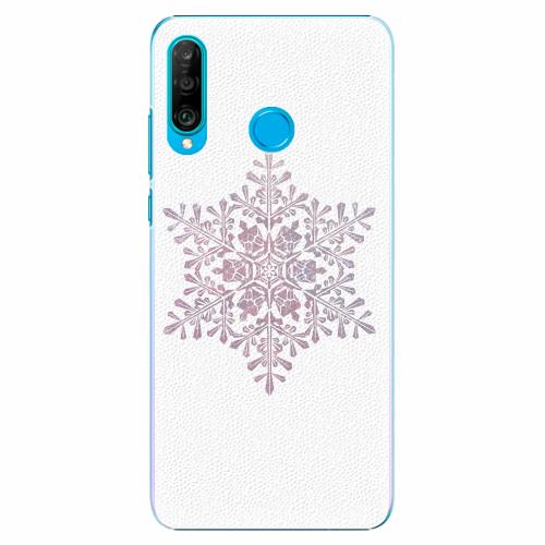 Plastový kryt iSaprio - Snow Flake - Huawei P30 Lite